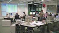 Blick ins Rosetta Lander%2dKontrollzentrum des DLR in Köln