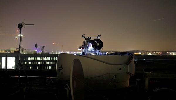 Optische Bodenstation Oberpfaffenhofen