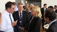Gespräch mit Bundesentwicklungsminister Dr. Müller