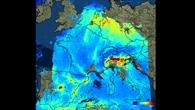 Stickstoffdioxid%2dBelastung über Europa