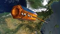 Radarsatellit PAZ im Orbit: künstlerische Darstellung