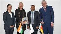 Besuch des Indischen Generalkonsuls im DLR