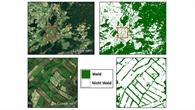 TDX%2dWaldkarte: Details über Süddeutschland