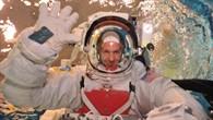 Astronaut Alexander Gerst beim Training