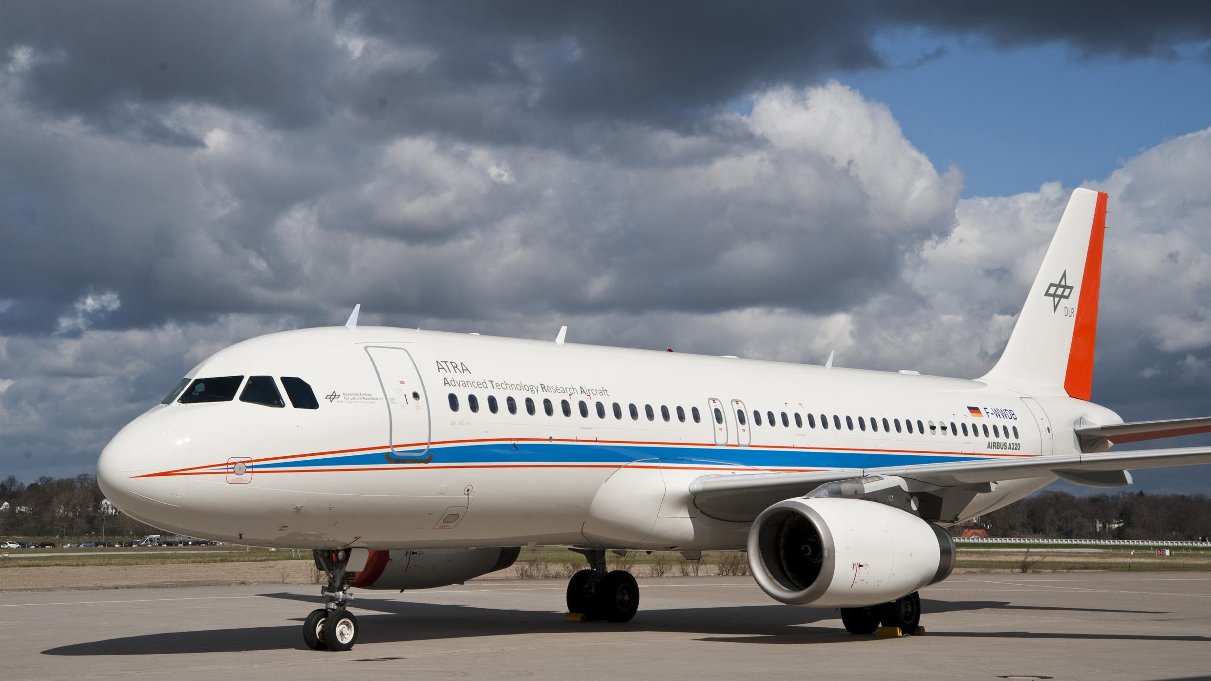 """DLR Portal - Research Aircraft - Airbus A320-232 """"D-ATRA"""""""