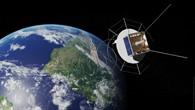 "DLR's satellite ""AISat"" monitoring world%2dwide marine traffic."