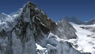 Virtueller Flug um den Achttausender K2