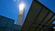 Turmkraftwerk in Jülich