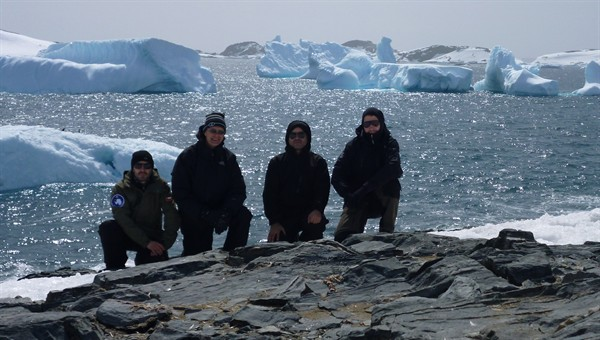 O'Higgins Antarctic station team