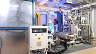 Testanlage für unterschiedliche Wärmespeicherkonzepte