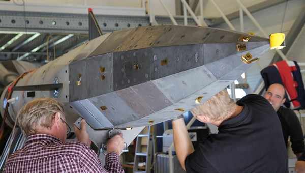 Assembly of the SHEFEX II vehicle