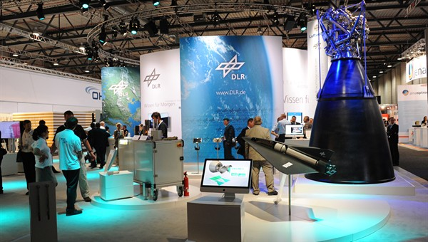 DLR stand at ILA 2012
