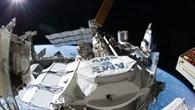 AMS%2d02 nach der Installation an der ISS