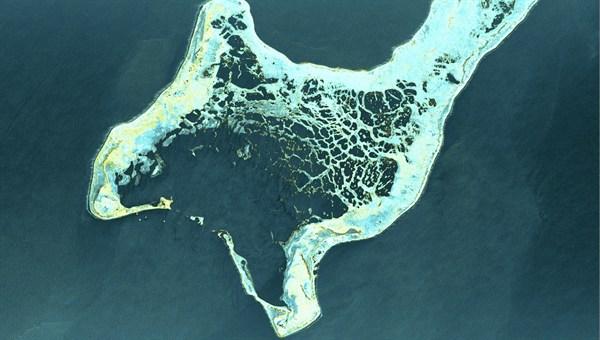 TerraSAR-X image of the month – Kiritimati atoll