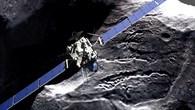 Philae landet auf dem Kometen 67P/Churyumov-Gerasimenko