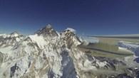 Im Anflug auf den Mount Everest