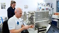 Alexander Gerst trainiert EML.