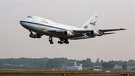 Landung von SOFIA in Hamburg