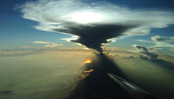 HALO über dem Amazonasgebiet