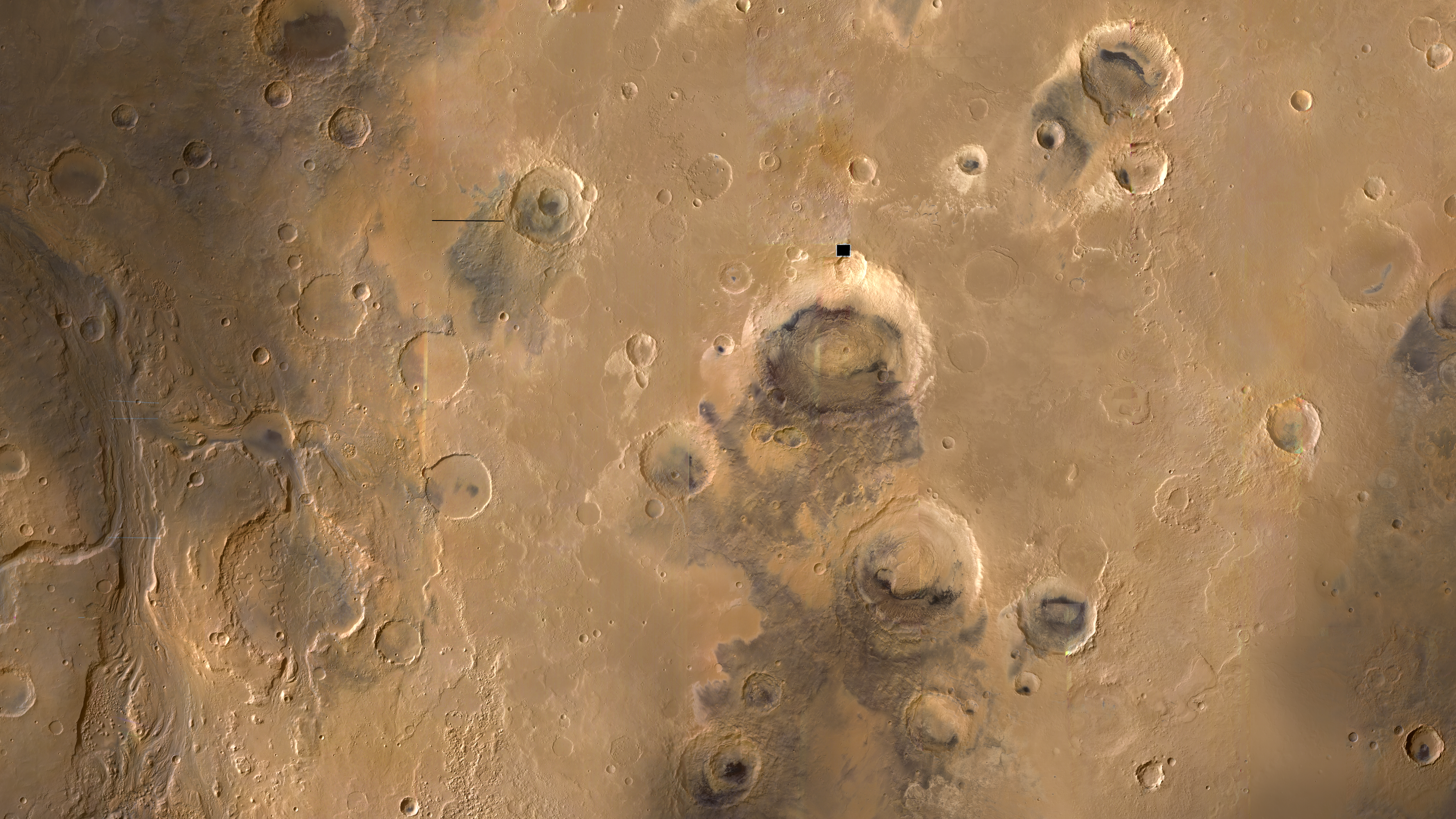 mars surface features - HD7000×3937