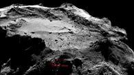 Gebiet des Landeplatzes von Philae