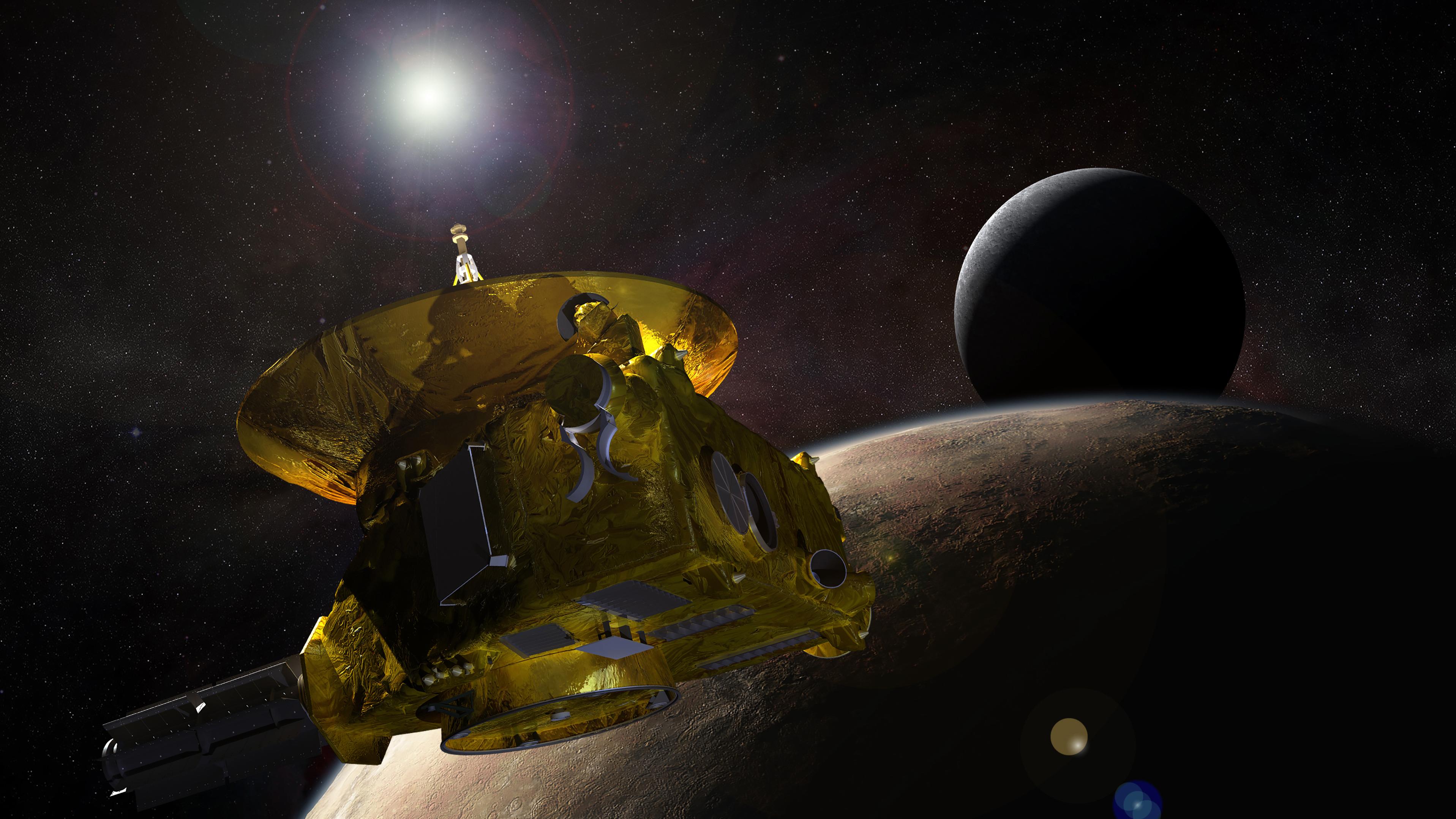 pluto spacecraft new arrival horizon - photo #23