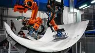 Aluablage durch Roboter im ZLP Augsburg