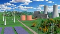Visualisierung Wärmespeicherkraftwerk