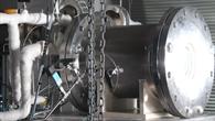 Versuchsaufbau für Mini%2dKraftwerk im Labor