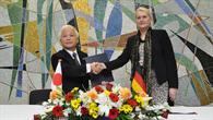 Pascale Ehrenfreund and Naoki Okumura