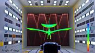 Simulation von Lilienthals Flug im Windkanal