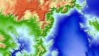 """Kraterlandschaft der """"Nevada Test%2dSite"""""""