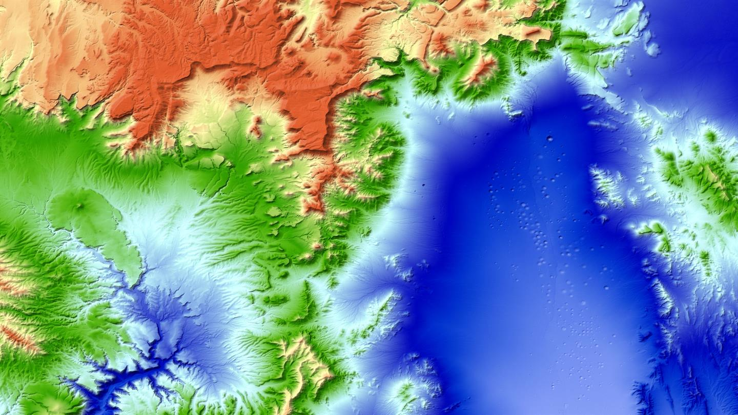 New 3d World Map Tandem X Global Elevation Model Completed