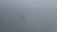 Tanker vor der Küste Westafrikas