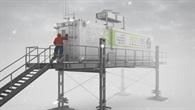 Das EDEN ISS-Gewächshaus wird ab Dezember 2017 den antarktischen Bedingungen trotzen.