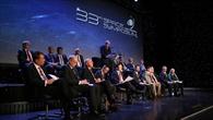 Treffen der Chefs der Raumfahrtagenturen aus 15 Nationen
