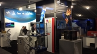 Stand des DLR auf dem 33. Space Symposium in Colorado Springs