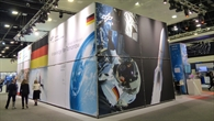 Exhibits from the fields of propulsion, robotics and Earth observation