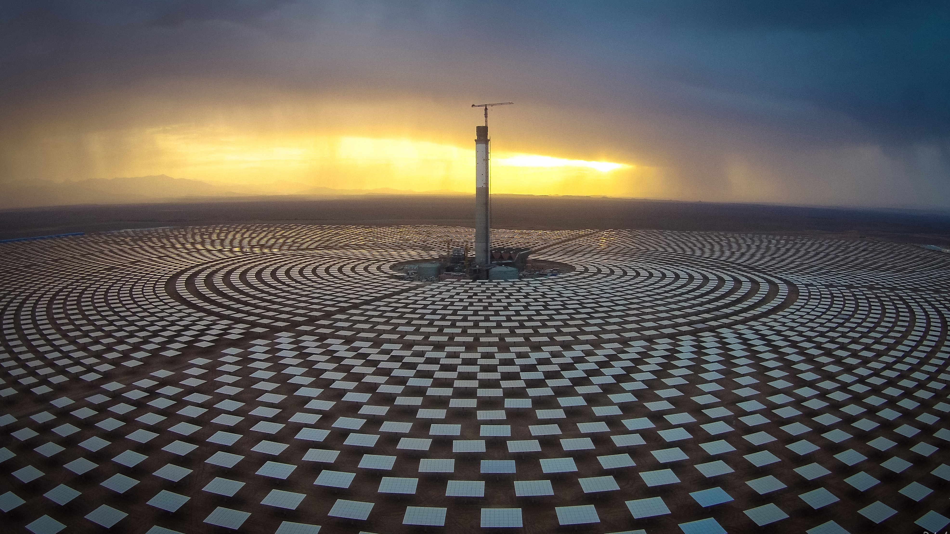Controllable Solar Power In North Africa
