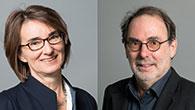 Prof. Heike Rauer und Prof. Tilman Spohn