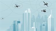 Flugbewegungen im urbanen Luftraum