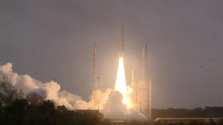 The Galileo satellites 'Nicole', 'Zofia', 'Alexandre' and 'Irina' are in Earth orbit