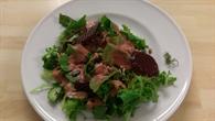 Salat frisch zubereitet für die Antarktis%2dÜberwinterer