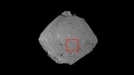 Aufnahme des Asteroids aus einer Höhe von ca. 1000 Meter