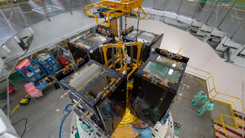 Latest Galileo satellites head for space on European Ariane 5 launcher