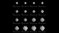 Aufnahmen des Asteroiden Ryugu während der Annährung