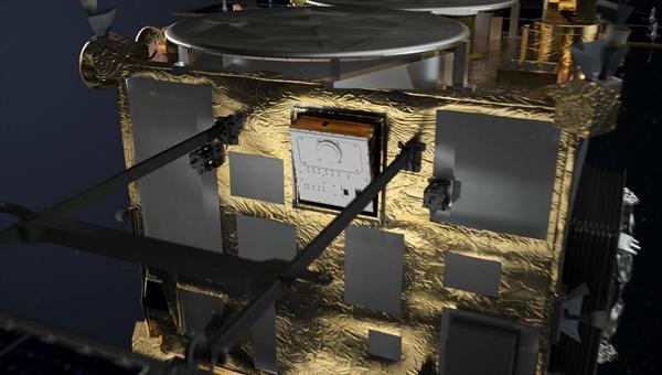 Asteroidenlander MASCOT an Bord der Raumsonde Hayabusa2