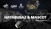 Titelmotiv der Ausstellung zu Hayabusa2 & MASCOT
