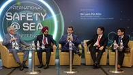 Podiumsdiskussion auf der Safety@Sea