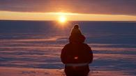 Erster Sonnenaufgang nach der Polarnacht